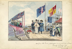 The Duke of Wellington at Deptford, 1841